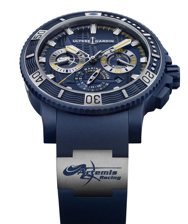 Ulysse Nardin Artemis Racing Diver Chronograph