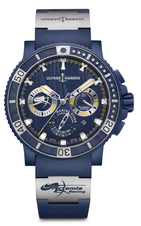 Funktional: Ulysse Nardin Artemis Racing Diver Chronograph