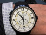 Wristshot des Ulysse Nardin Marine Regatta Chronograph