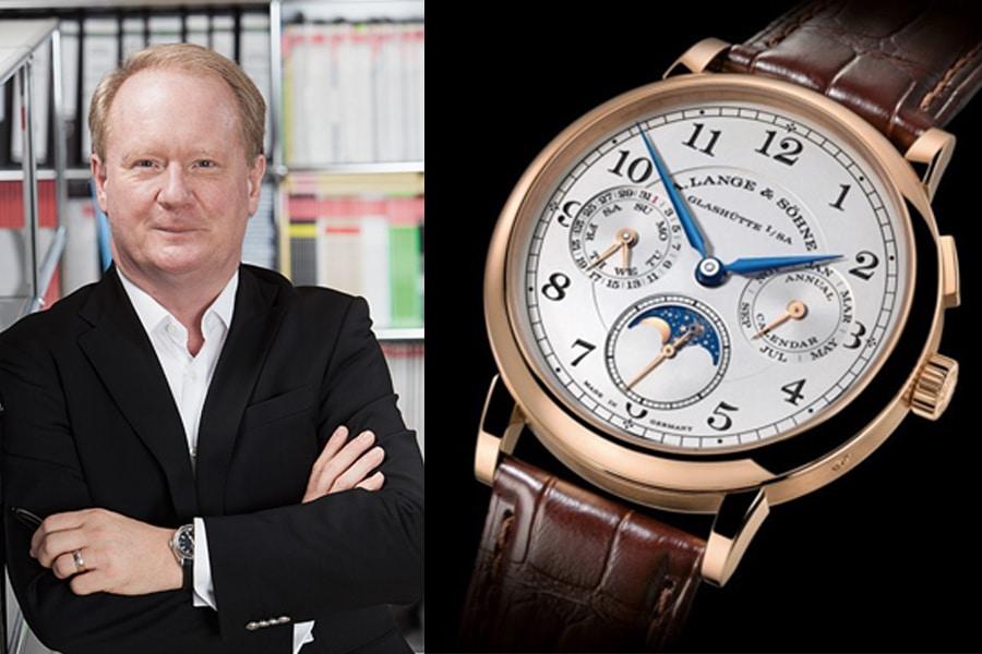 A. Lange & Söhne 1815 Jahreskalender: Die beste Uhr vom SIHH 2017 für Thomas Wanka, Chefredakteur UHREN-MAGAZIN