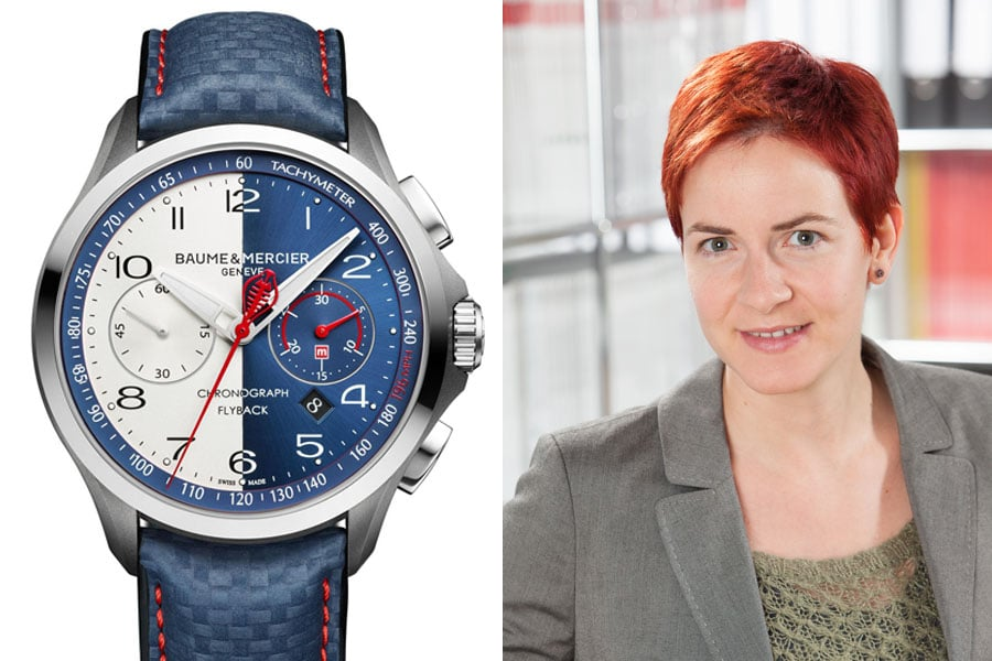 Baume & Mercier Clifton Club Shelby Cobra: Die beste Uhr vom SIHH 2017 für Gwendolyn Benda, Transaction Editor Watchtime.net