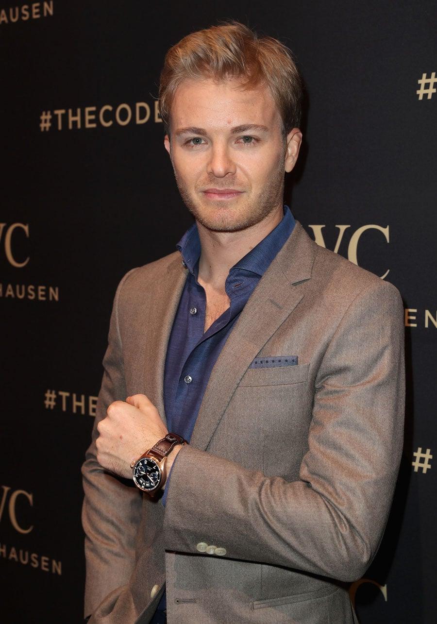 "Am Handgelenk von Formel-1-Weltmeister Nico Rosberg: IWC Big Pilot's Watch Annual Calender Edition ""Le Pétit Prince"""