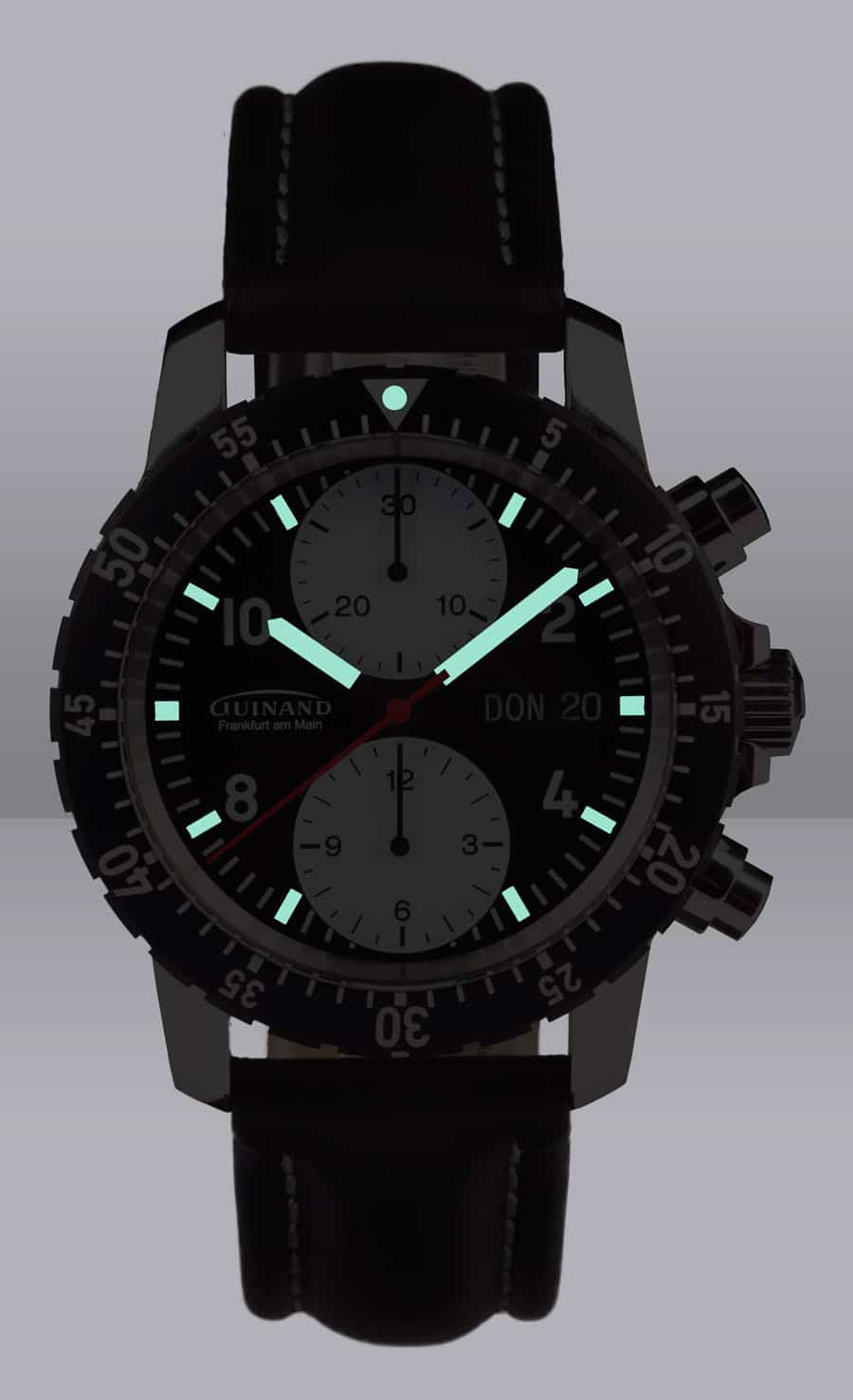 Guinand: Duograph Chrono bei Nacht