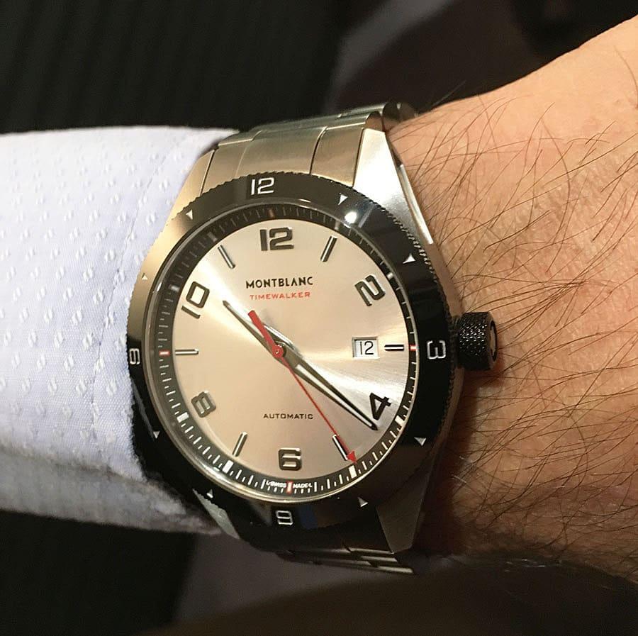 Wristshot der Montblanc TimeWalker Automatic Date
