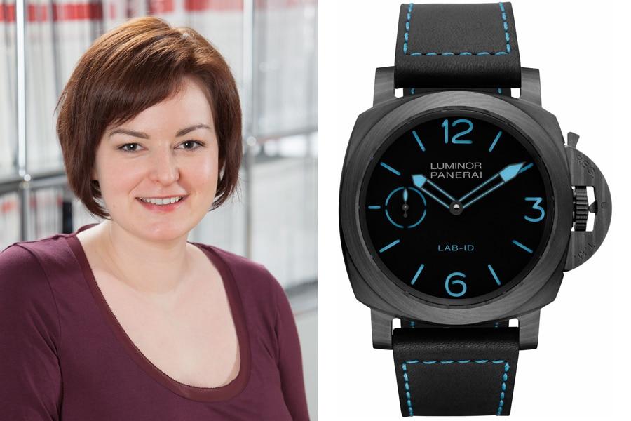 Panerai LAB-ID Luminor 1950 Carbotech: Die beste Uhr vom SIHH 2017 für Melissa Gößling, Redakteurin UHREN-MAGAZIN