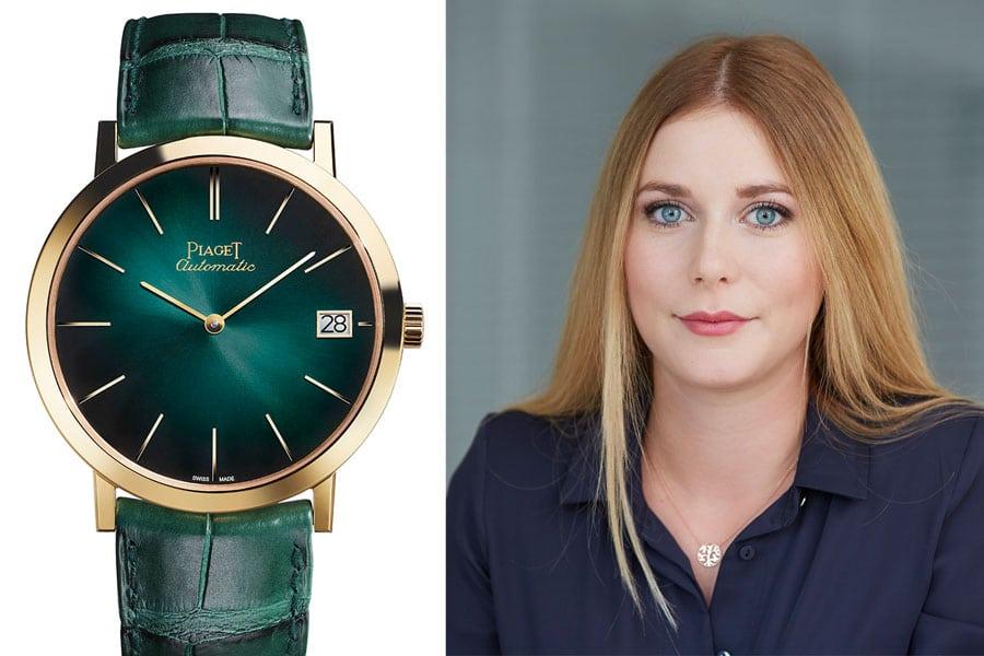 Piaget 60 Jahre Altiplano 40 mm: Die beste Uhr vom SIHH 2017 für Nadja Ehrlich, Transaction Editor Volontärin Watchtime.net