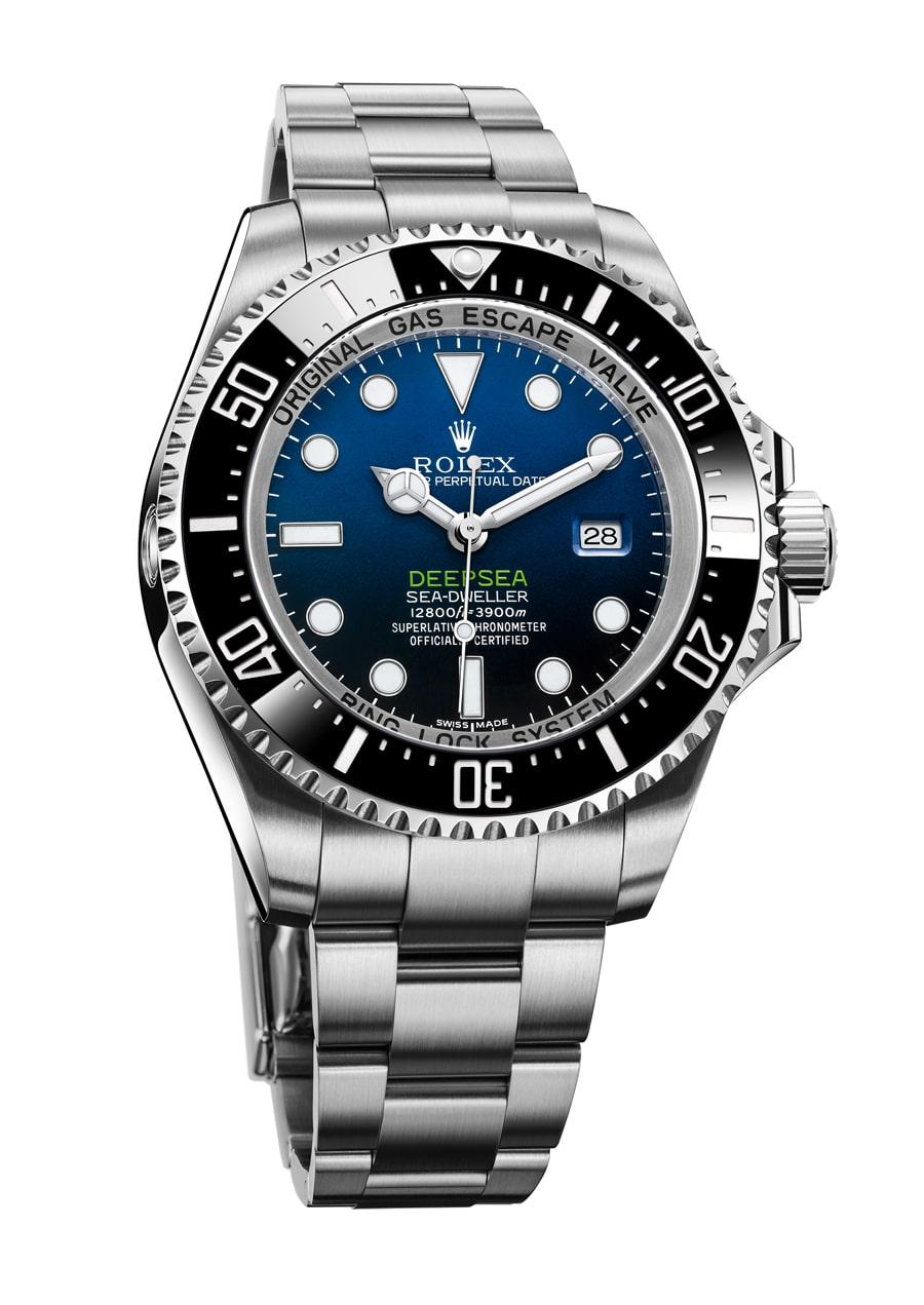 Rolex: Oyster Perpetual Deepsea D-Blue