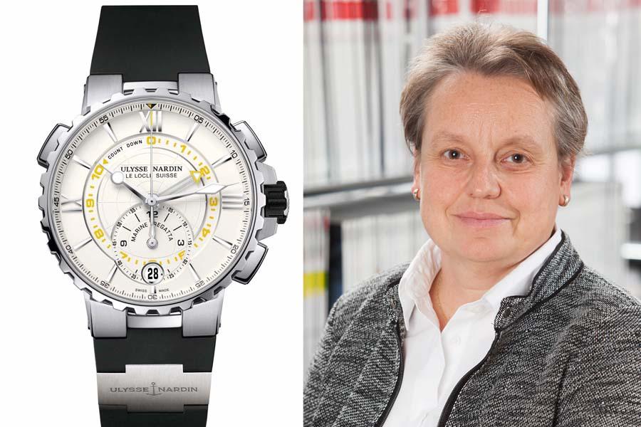 Ulysse Nardin Marine Regatta Chronograph: Die beste Uhr vom SIHH 2017 für Martina Richter, stellvertretende Chefredakteurin UHREN-MAGAZIN