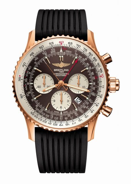 Breitling: Navitimer Rattrapante in Rotgold