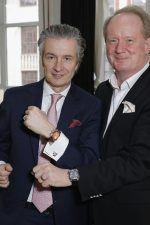 Thomas Meier, CEO von Glashütte Original zusammen mit dem Chefredakteur des UHREN-MAGAZINS Thomas Wanka