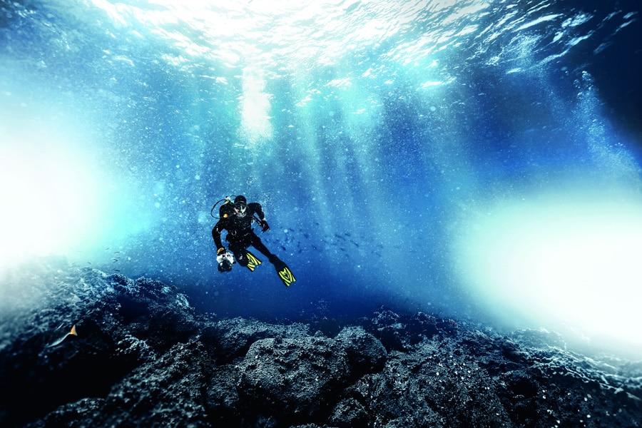 Das Erforschen der Unterwasserwelt fasziniert Laien wie Profitaucher. © IWC, Michael Müller