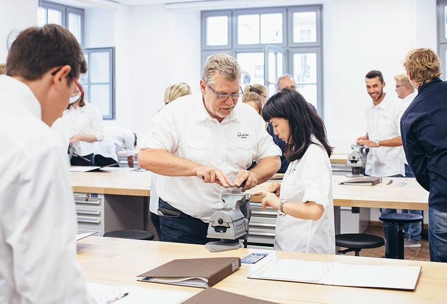 Glashütte Original: Uhrmacherschule 2018