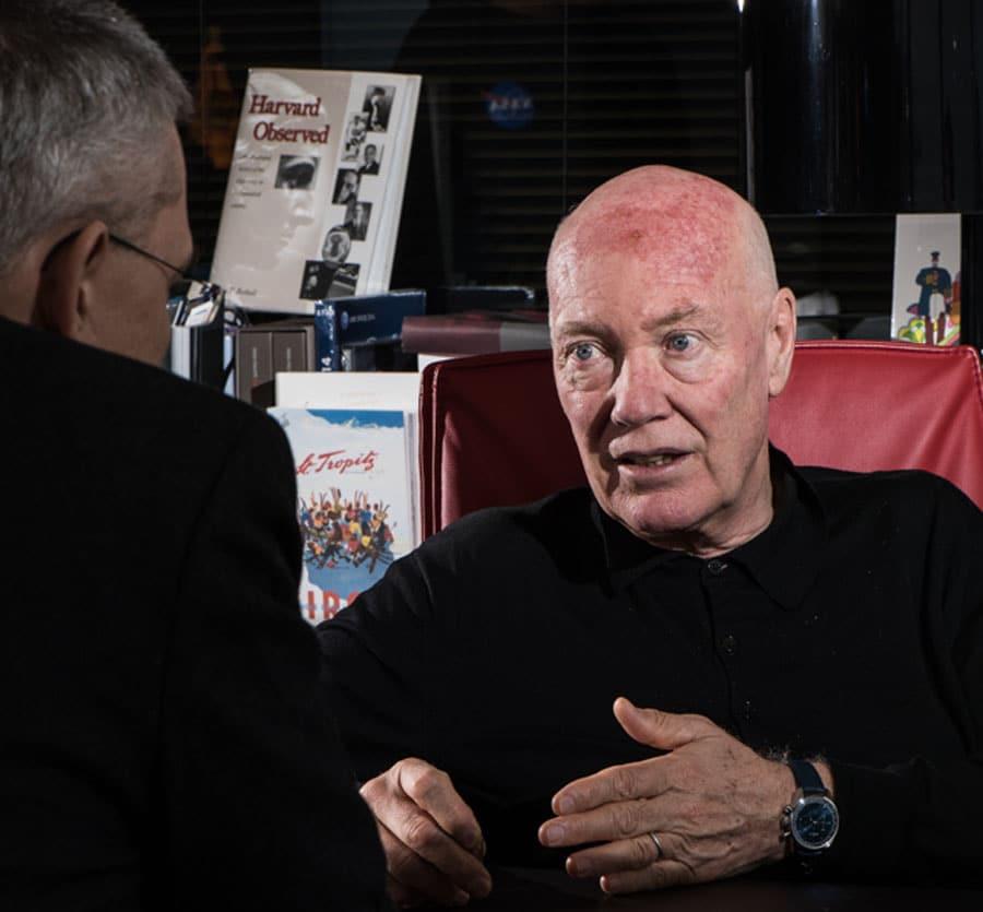 Jean Claude Biver im Interview mit Rüdiger Bucher, Chefredakteur der Chronos