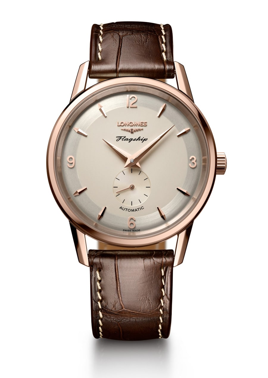Longines: Flagship Heritage 60th Anniversary 1957-2017 in Roségold