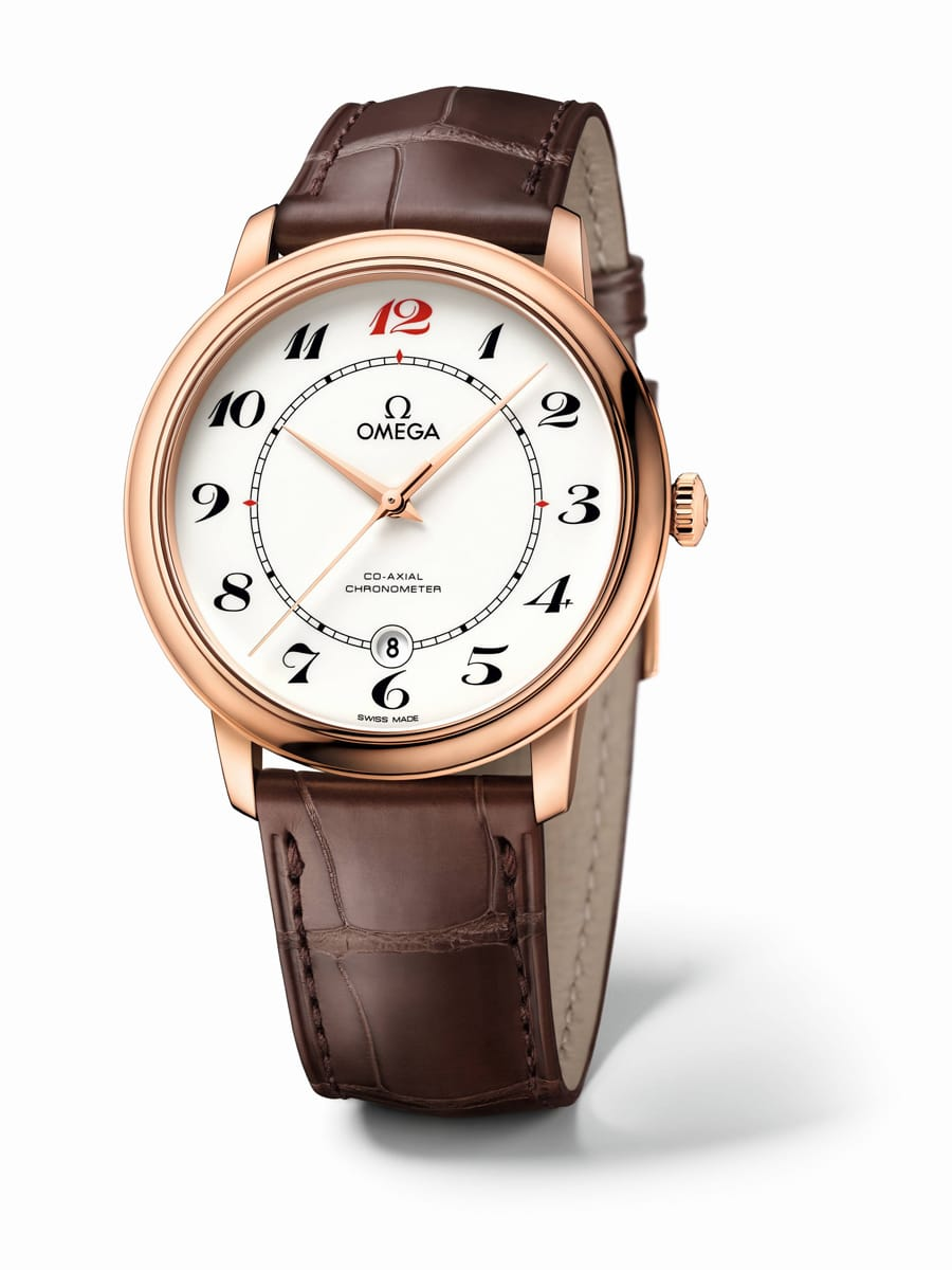 Die Omega De Ville 50th Anniversary in Rotgold