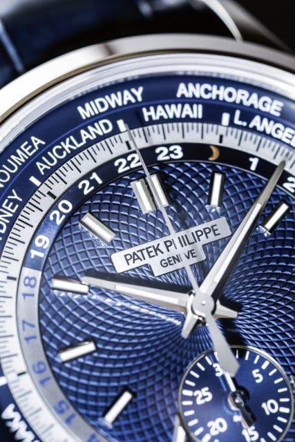 Der neue Weltzeit-Chronograph von Patek Philippe