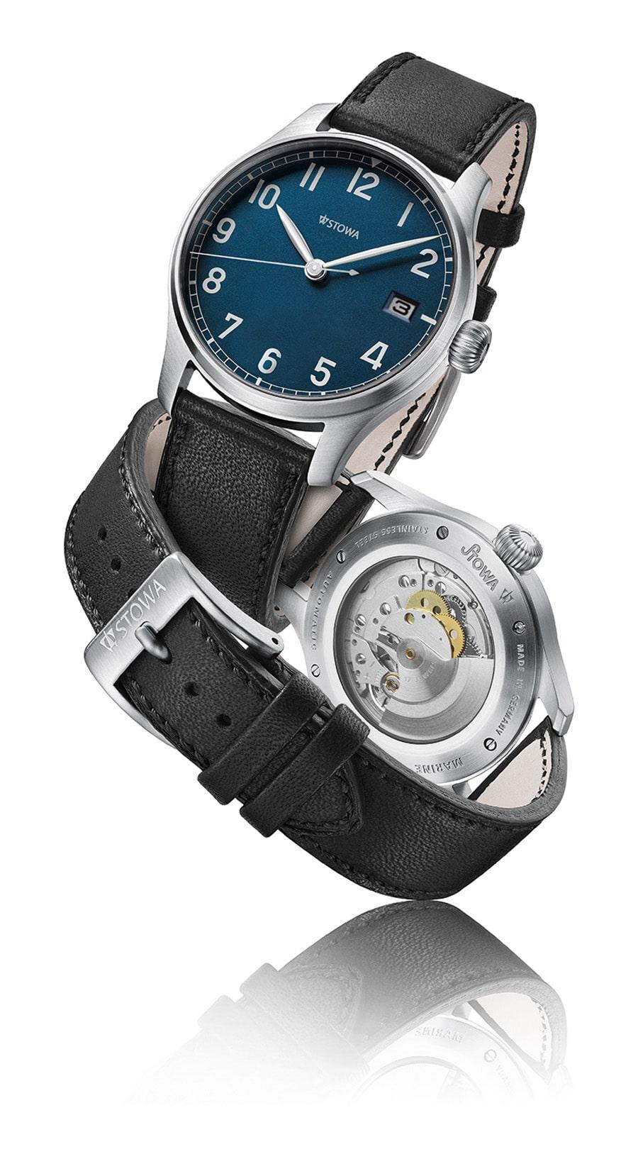 Stowa: Marine Automatik Blue Limited mit Datum