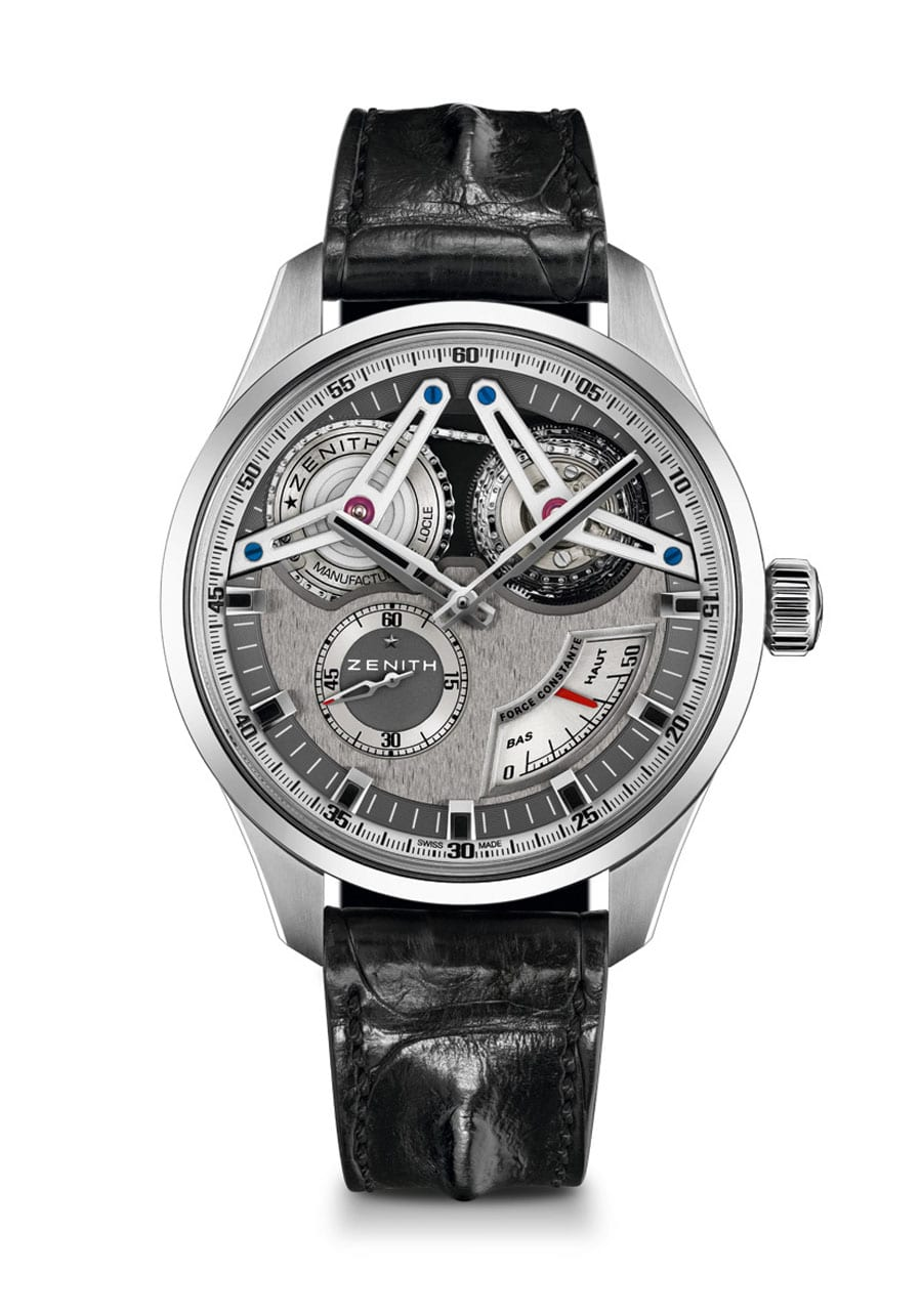 Geprüfter Chronometer: Zenith Academy Georges Favre-Jacot in Titan