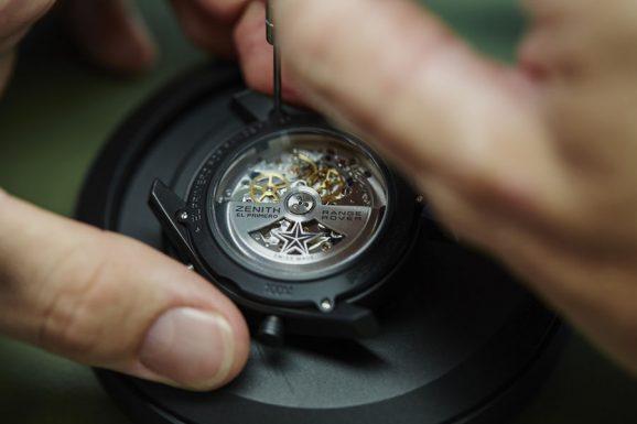 Fertigung eines Zenith-Chronographen mit El-Primero-Kaliber