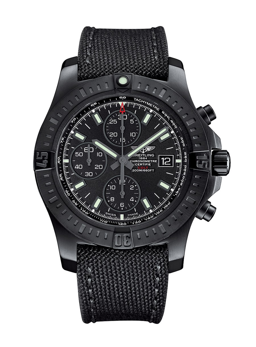 Breitling: Colt Chronograph Automatic Blacksteel
