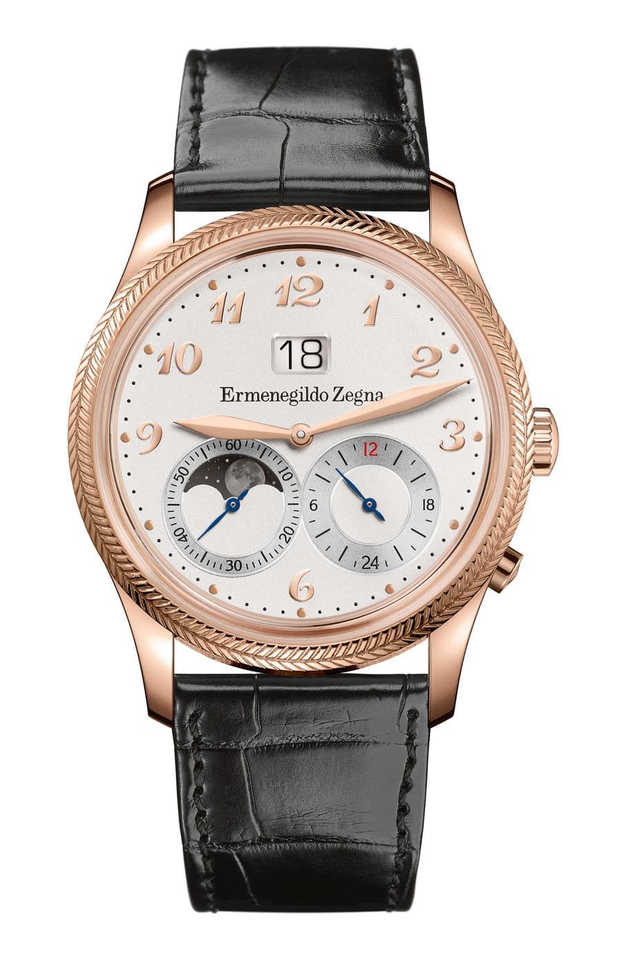 Ermenegildo Zegna: Monterubello Travel Watch