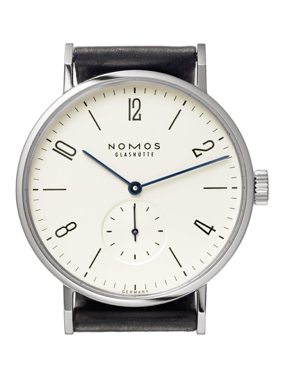 Nomos Glashütte erreicht mit der Tangomat in der Kategorie a bis 2.500 Euro den <strong>zweiten Platz</strong> bei der Goldenen Unruh 2018. 2.390 Stimmen ergeben einen Anteil von 15,6 Prozent.