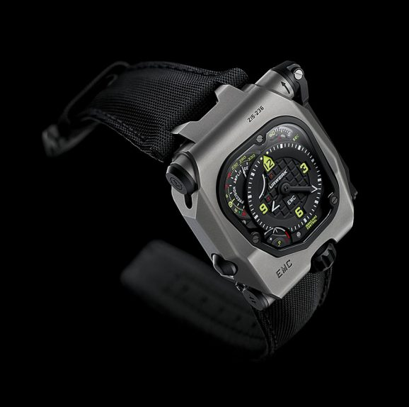 Urwerk: EMC Time Hunter