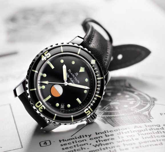 Blancpain: Tribute to Fifty Fathoms MIL-SPEC
