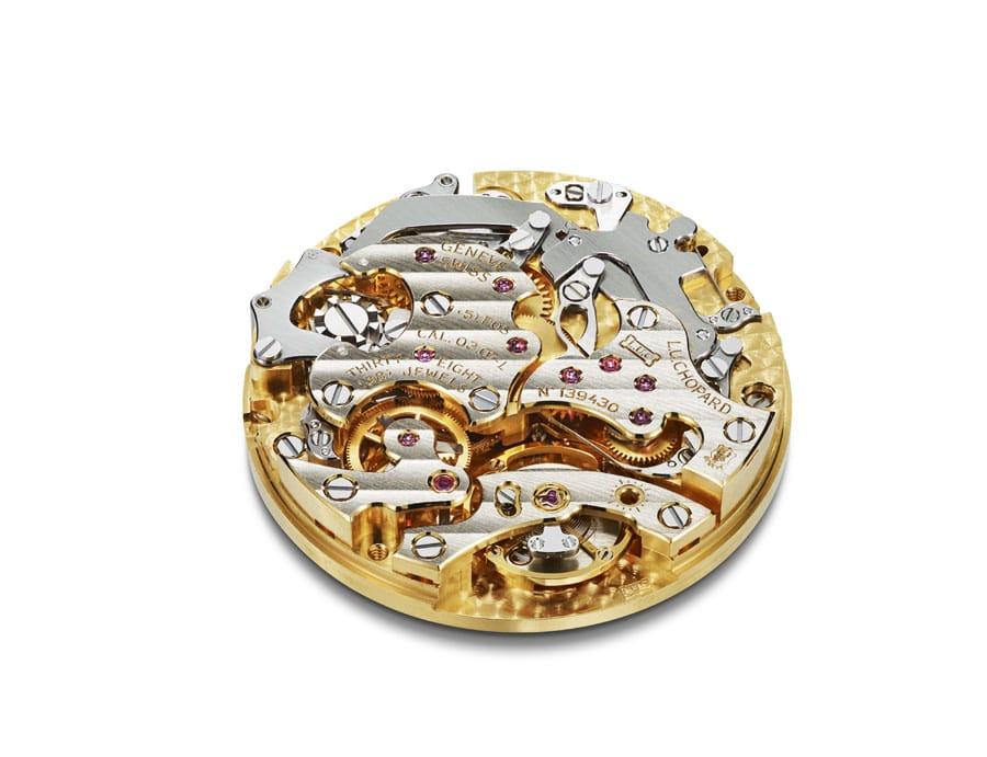 Chopard-Chronographenkaliber mit Handaufzug: LUC 03-07-L
