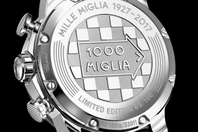 Chopard: Mille Miglia 2017 Race Edition Bodengravur
