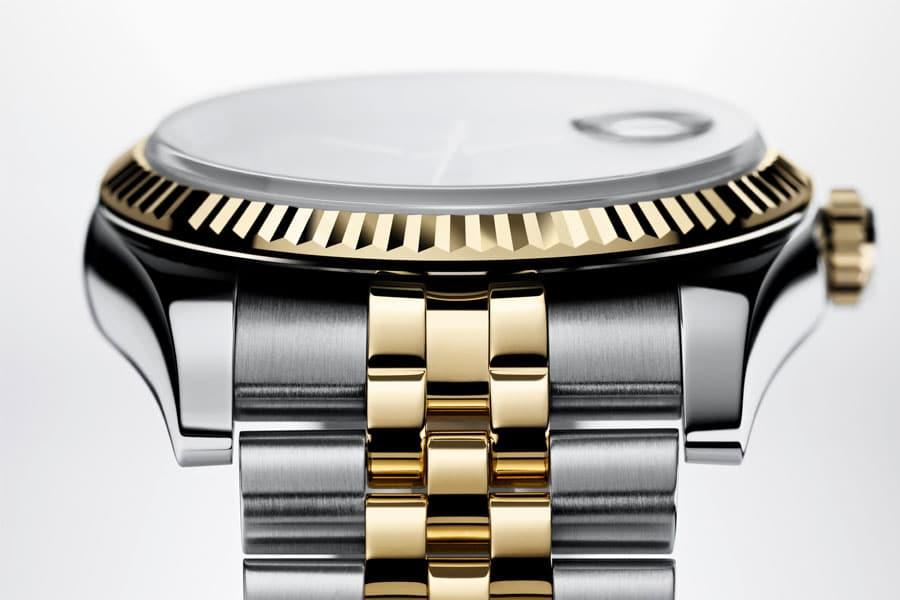 Designmerkmal: Lünette der Rolex Datejust