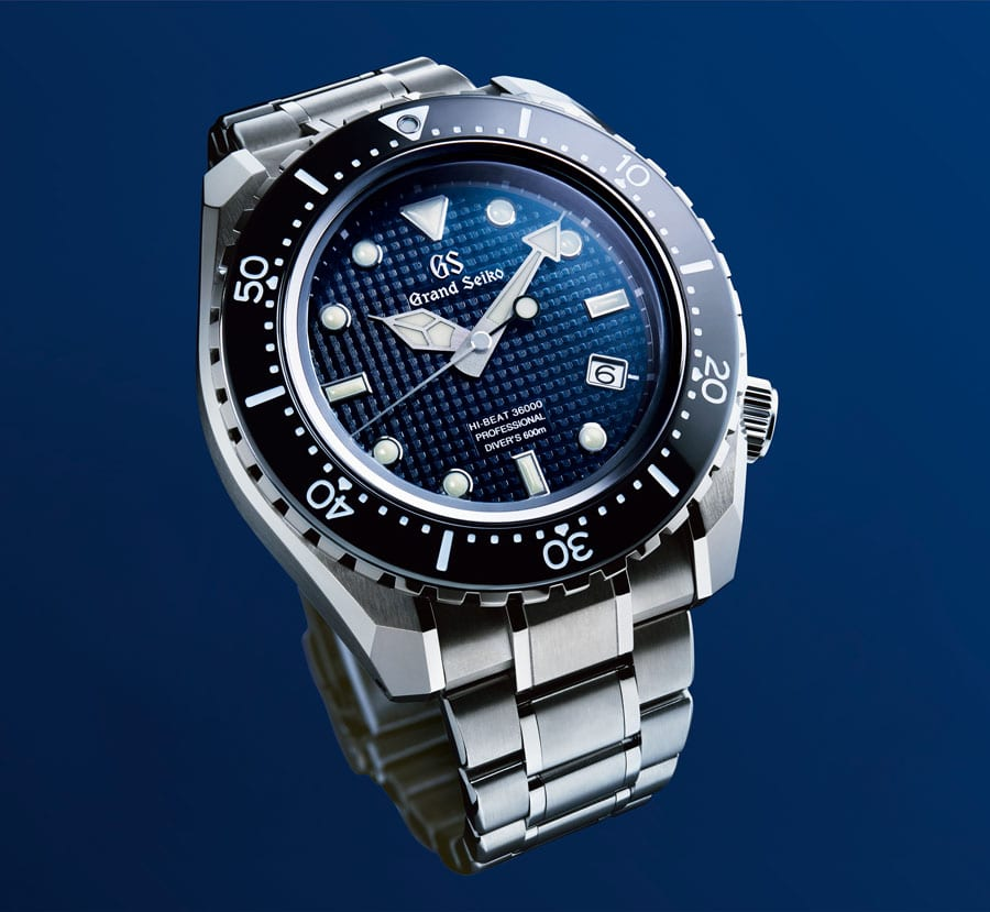 Grand Seiko: Automatic Hi-Beat Professional Diver`s Limited Edition