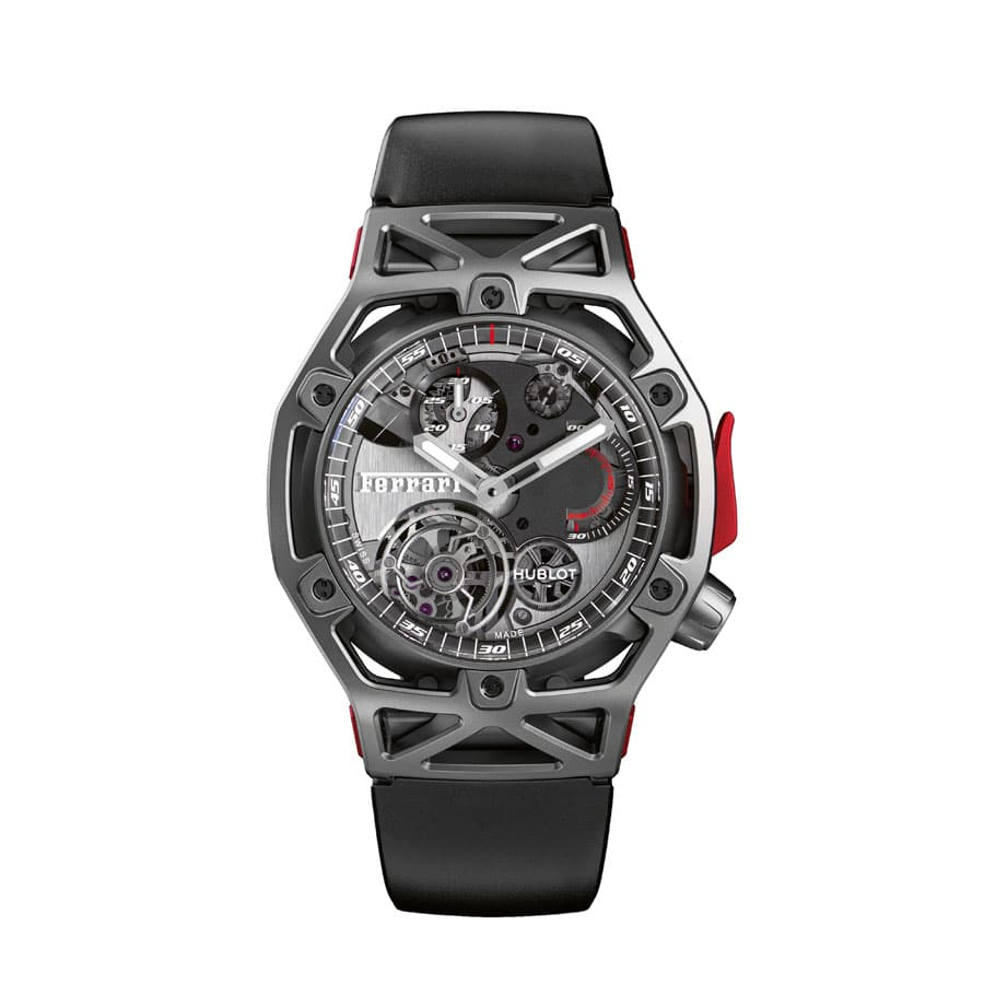 Hublot Techframe Ferrari 70 Years Tourbillon Chronograph