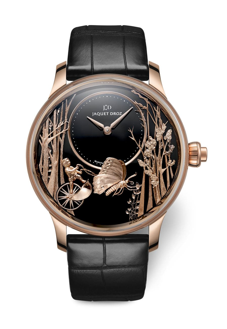 Jaquet Droz: Loving Butterfly Automaton