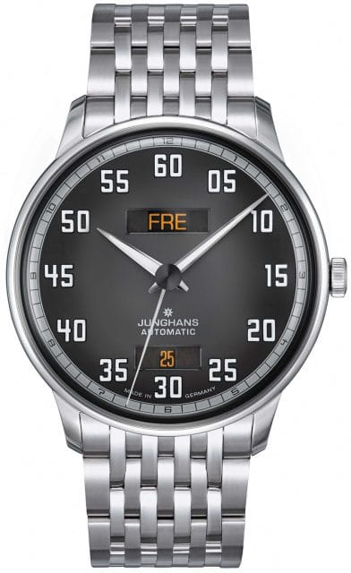 Junghans: Meister Driver Day Date mit Metallband