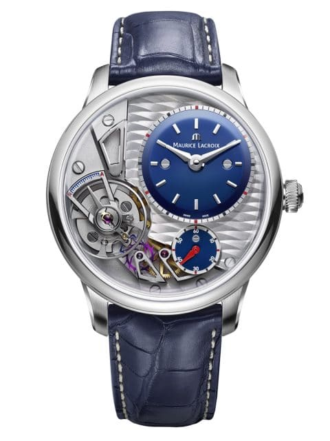Maurice Lacroix: Masterpiece Gravity Blue