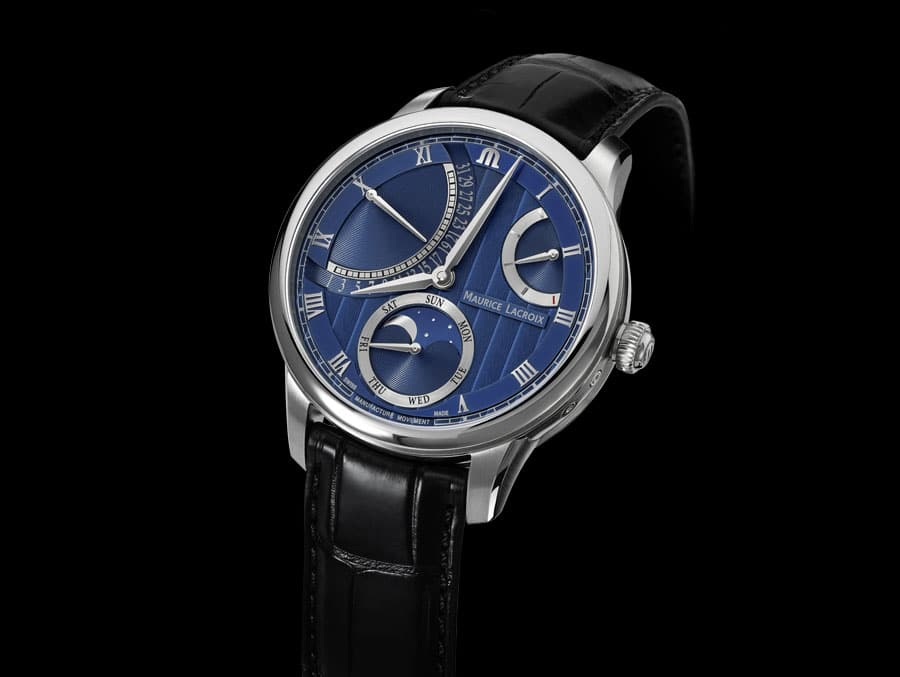 Maurice Lacroix: Masterpiece Moon Retrograde