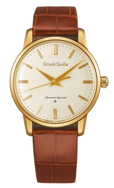 Die Neuauflage der ersten Grand Seiko in Gold