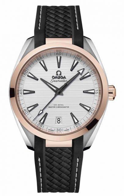 Omega: Seamaster Aqua Terra Master Chronometer in Edelstahl und Sedna-GoldOmega: Seamaster Aqua Terra Master Chronometer in Edelstahl und Sedna-Gold