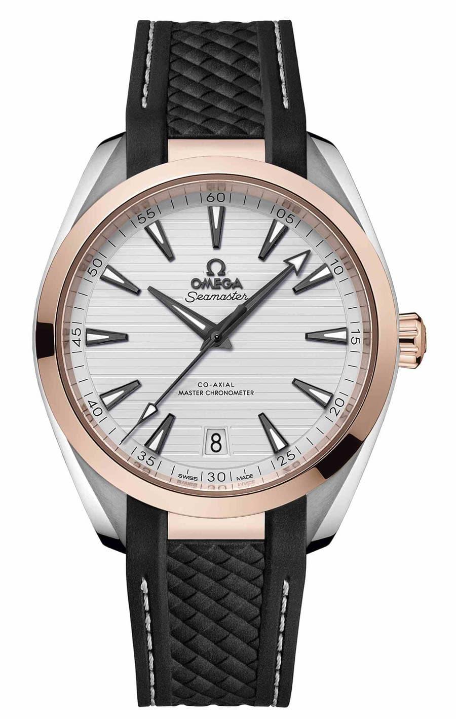 Omega: Seamaster Aqua Terra Master Chronometer in Edelstahl und Sedna-Gold