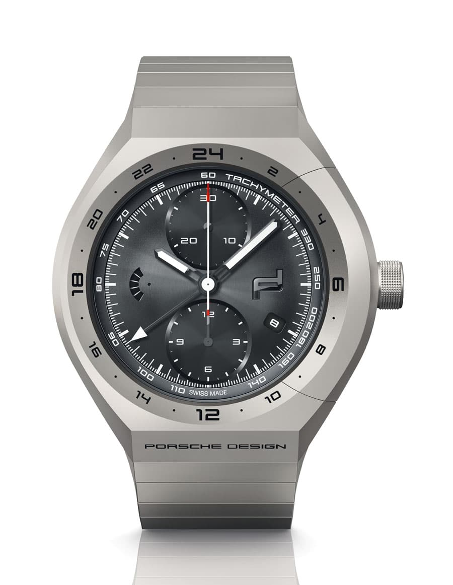 Porsche Design: Monobloc Actuator GMT-Chronotimer All Titanium