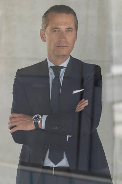 Raynald Aeschlimann, Präsident und CEO von Omega