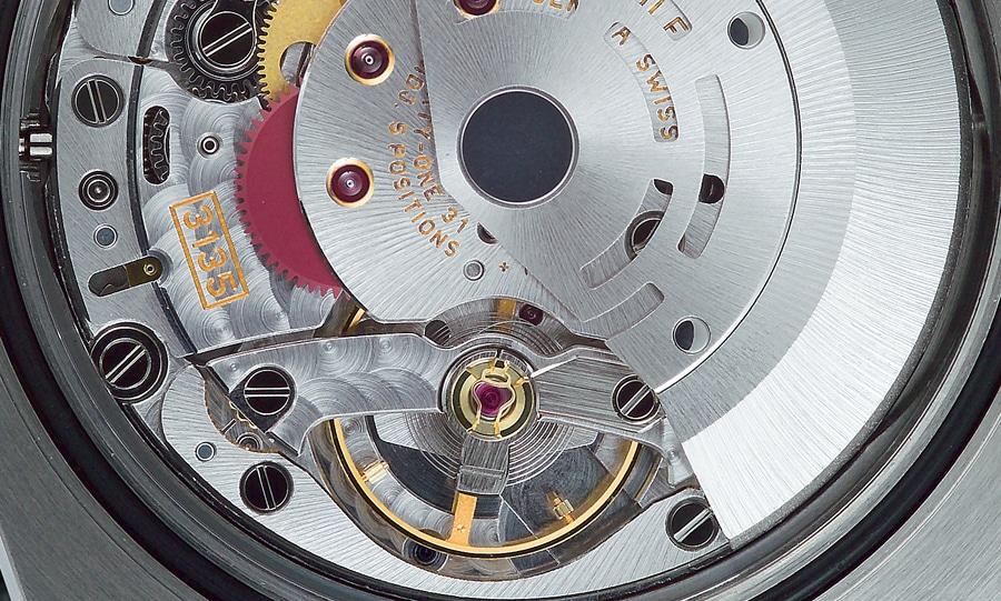 """Rolex verwendet so genannte """"Microstella""""-Schrauben zur Veränderung des Trägheitsmoments"""