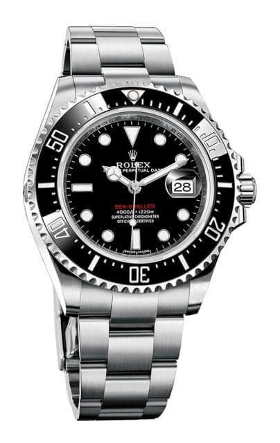 Rolex Sea-Dweller in Edelstahl 904L