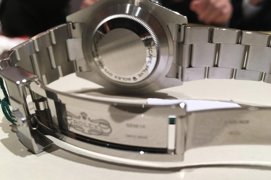 40 mm mehr Band verschafft das Bandverlängerungssystem der Rolex Sea-Dweller