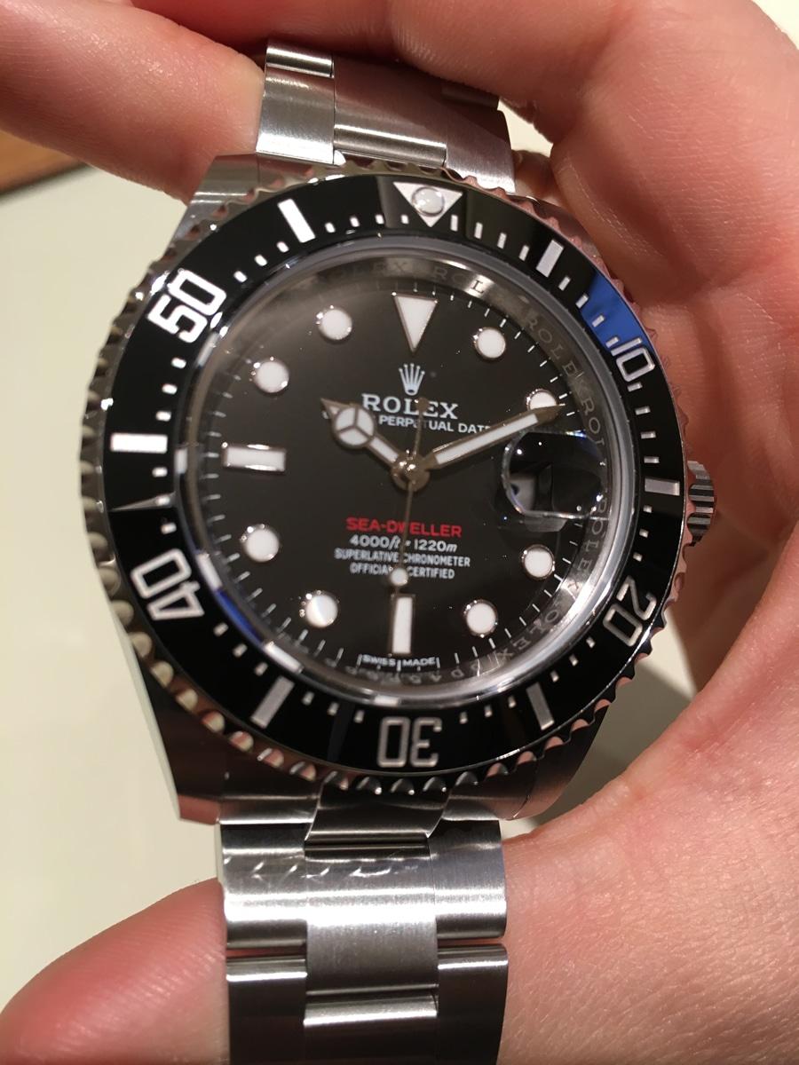 Erstmals bekommt die Rolex Sea-Dweller eine Datumslupe
