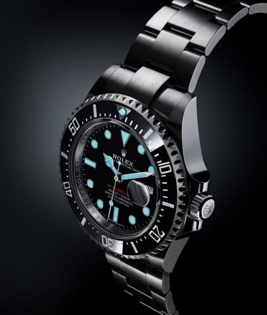 Rolex: Oyster Perpetual Sea-Dweller mit Datumslupe