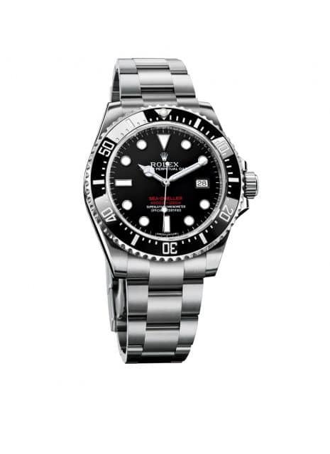 Mögliche Rolex-Neuheit 2017?: Sea-Dweller 4000 Jubiläumsmodell mit roten Schriftzügen