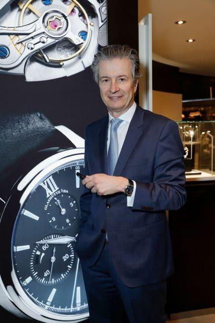 Thomas Meier, CEO von Glashütte Original