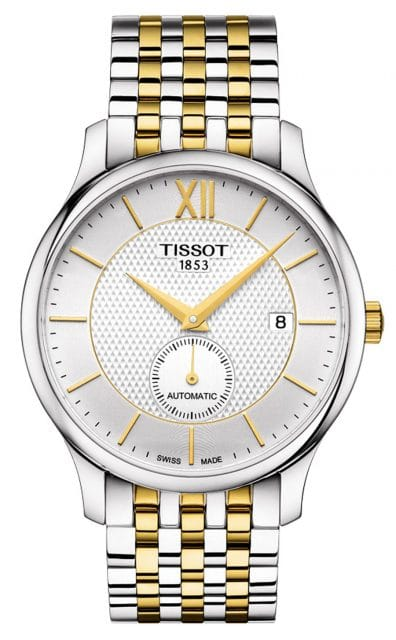Tissot: Tradition Automatic Small Second in Bicolor